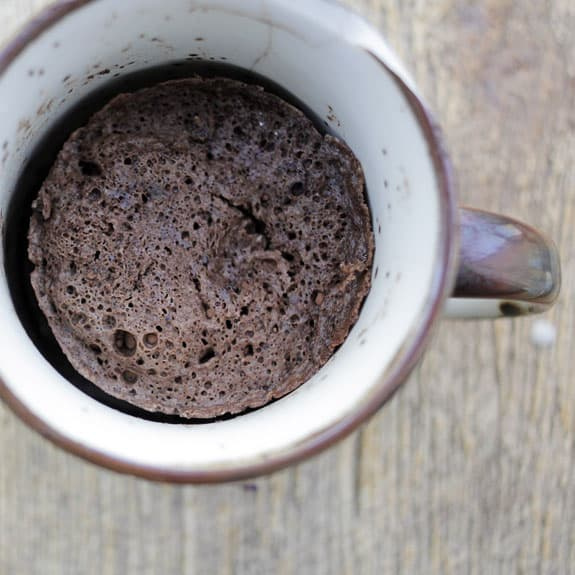 clean eating recipe, chocolate mug cake