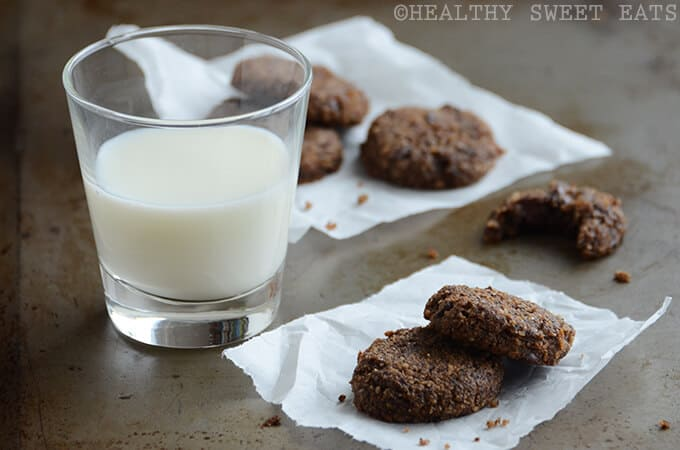 healthy dessert recipes - cookies