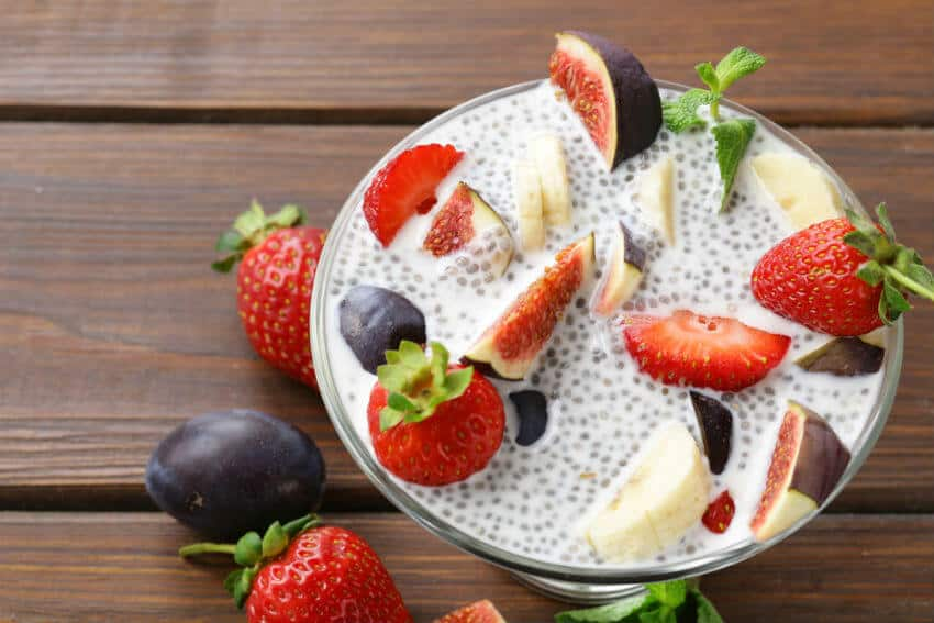 healthy dessert recipes - protein pudding