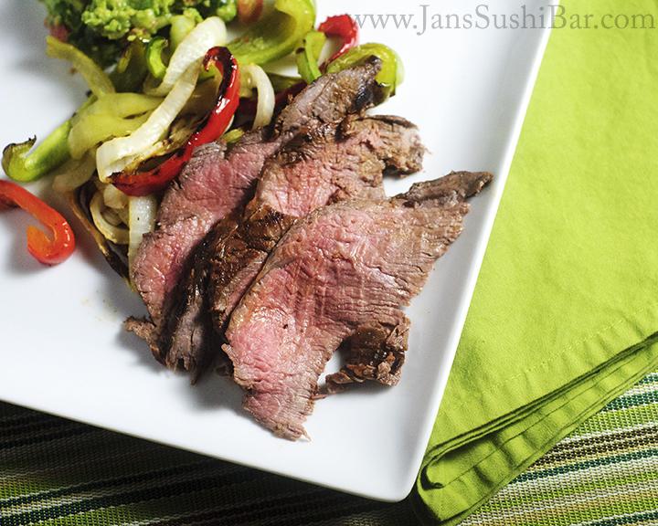 clean eating recipe, citrus marinated steak