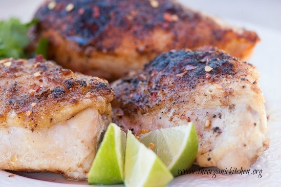 clean eating recipe, spicy lime chicken