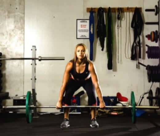 leg workouts for women - dead lifts