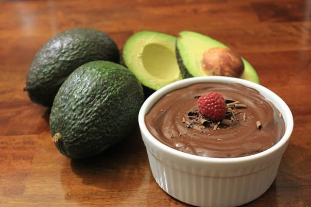 healthy dessert recipes - chocolate avocado pudding