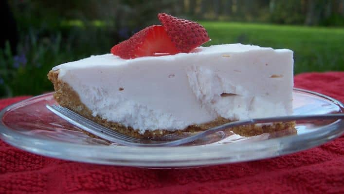 healthy dessert recipes - yogurt pie