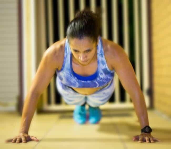 strength training pushups