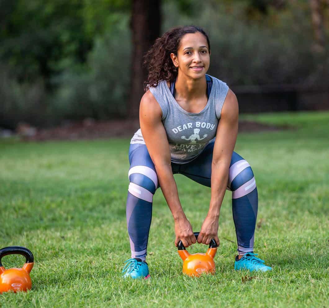 kettlebell legs workout